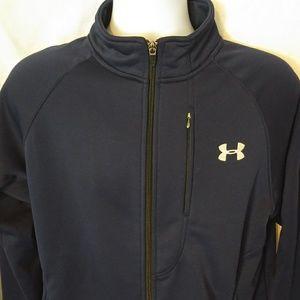 Under Armour Full Zip Up Performance Sweater Men M